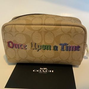 Disney X COACH Small Boxy Case Once Upon A Time